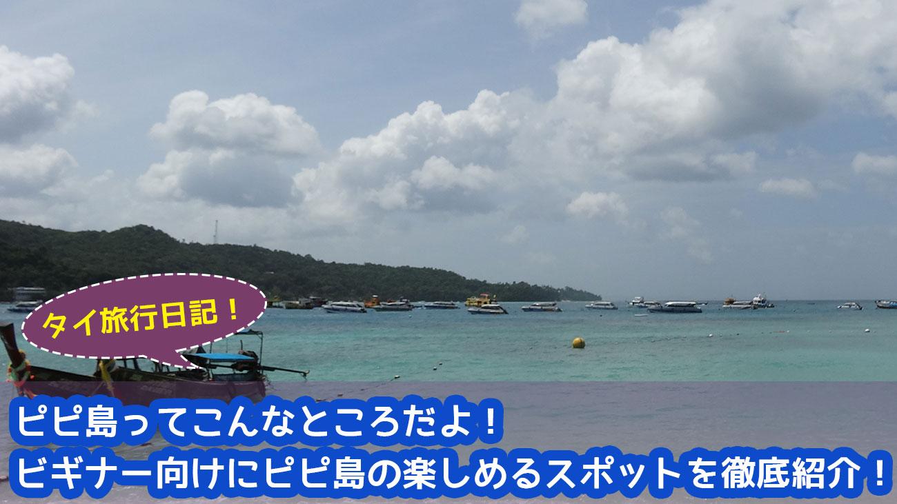 【動画】ピピ島ってこんなところだよ!ピピ島の雰囲気を掴んでおこう!!ピピ島を徹底紹介!