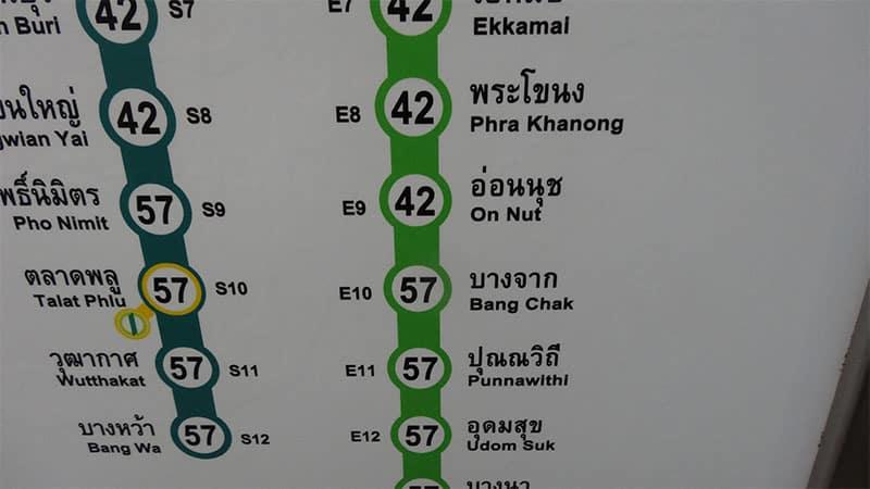 BTSバンコクスカイトレインの駅の雰囲気を紹介するよ!